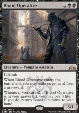 Guilds of Ravnica: Blood Operative