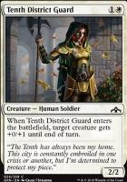 Guilds of Ravnica: Tenth District Guard