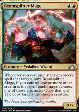 Guilds of Ravnica Foil: Beamsplitter Mage
