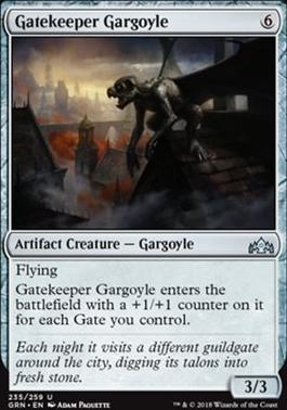 Guilds of Ravnica: Gatekeeper Gargoyle