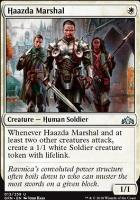 Guilds of Ravnica: Haazda Marshal