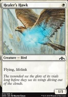 Guilds of Ravnica: Healer's Hawk