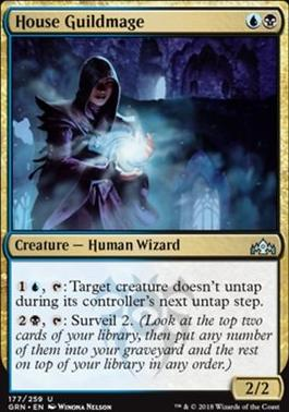 Guilds of Ravnica Foil: House Guildmage
