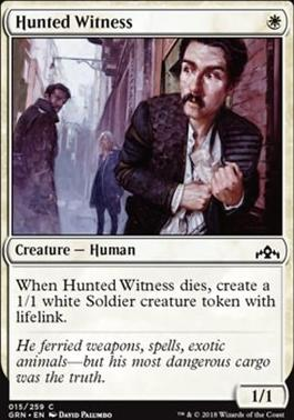 Guilds of Ravnica: Hunted Witness
