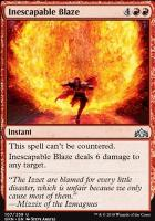 Guilds of Ravnica Foil: Inescapable Blaze