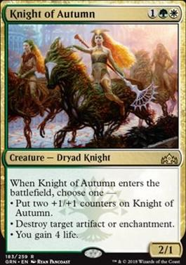 Guilds of Ravnica: Knight of Autumn