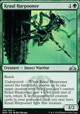 Guilds of Ravnica: Kraul Harpooner
