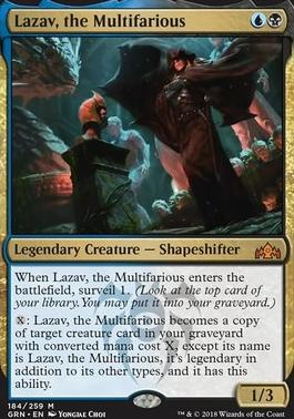 Guilds of Ravnica: Lazav, the Multifarious