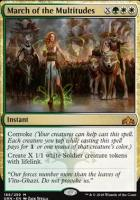 Guilds of Ravnica Foil: March of the Multitudes