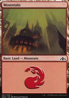 Guilds of Ravnica: Mountain