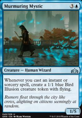 Guilds of Ravnica: Murmuring Mystic
