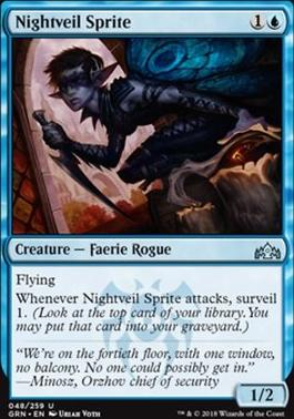 Guilds of Ravnica: Nightveil Sprite