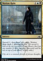 Guilds of Ravnica Foil: Notion Rain