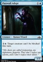 Guilds of Ravnica Foil: Passwall Adept