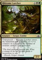 Guilds of Ravnica Foil: Rhizome Lurcher