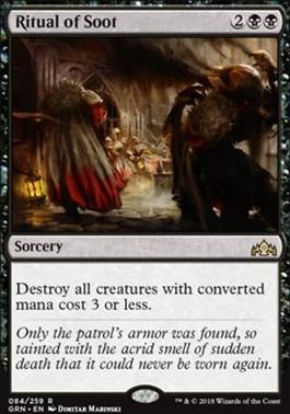 Guilds of Ravnica Foil: Ritual of Soot