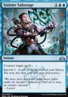 Guilds of Ravnica: Sinister Sabotage