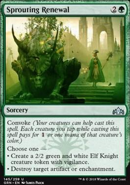 Guilds of Ravnica: Sprouting Renewal
