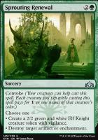 Guilds of Ravnica Foil: Sprouting Renewal