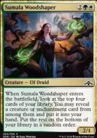 Guilds of Ravnica Foil: Sumala Woodshaper