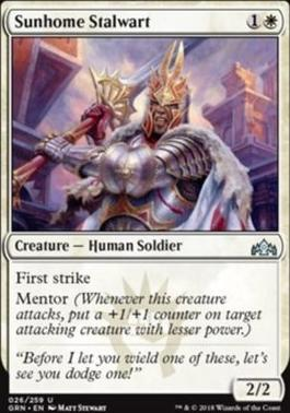 Guilds of Ravnica: Sunhome Stalwart