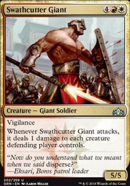 Guilds of Ravnica: Swathcutter Giant