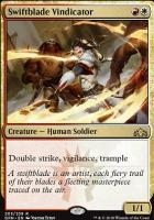Guilds of Ravnica Foil: Swiftblade Vindicator