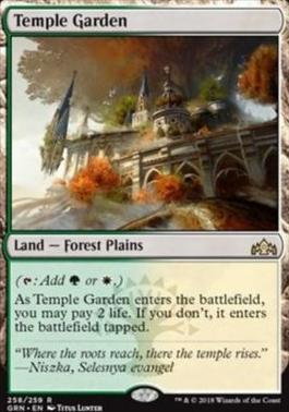 Guilds of Ravnica: Temple Garden