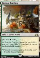 Guilds of Ravnica Foil: Temple Garden