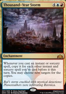 Guilds of Ravnica Foil: Thousand-Year Storm