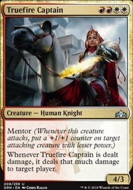 Guilds of Ravnica: Truefire Captain