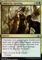 Guilds of Ravnica Foil: Undercity Uprising