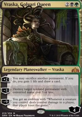 Guilds of Ravnica Foil: Vraska, Golgari Queen