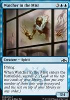Guilds of Ravnica Foil: Watcher in the Mist