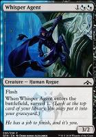 Guilds of Ravnica Foil: Whisper Agent
