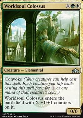 Guilds of Ravnica: Worldsoul Colossus