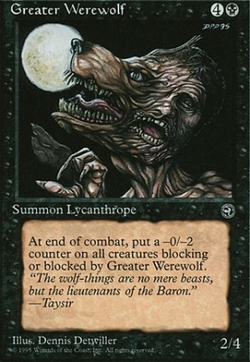 Homelands: Greater Werewolf