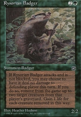 Homelands: Rysorian Badger