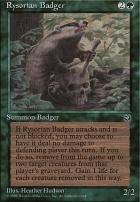 Homelands: Rysorian Badger