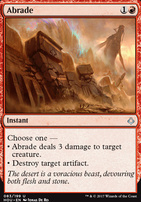 Hour of Devastation Foil: Abrade
