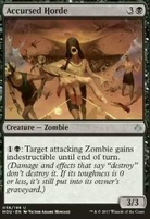 Hour of Devastation Foil: Accursed Horde