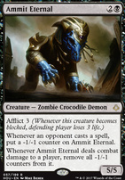 Hour of Devastation Foil: Ammit Eternal