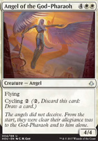 Hour of Devastation Foil: Angel of the God-Pharaoh
