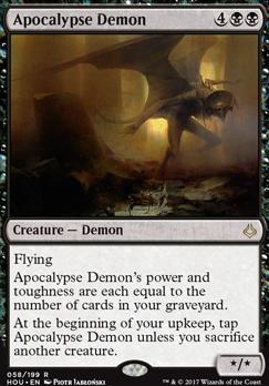 Hour of Devastation Foil: Apocalypse Demon