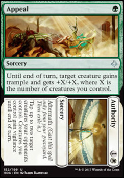 Hour of Devastation Foil: Appeal // Authority