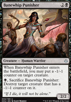 Hour of Devastation Foil: Banewhip Punisher