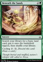 Hour of Devastation Foil: Beneath the Sands