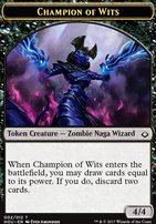 Hour of Devastation: Champion of Wits Token