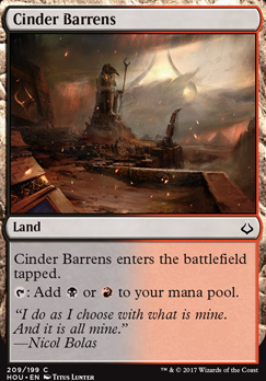 Hour of Devastation: Cinder Barrens (Planeswalker Deck)