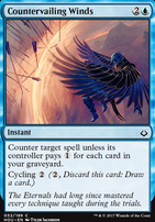 Hour of Devastation Foil: Countervailing Winds